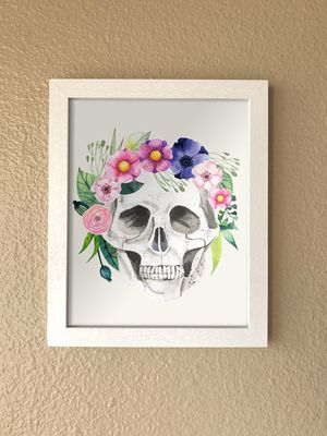 Halloween Skull Wall Art for Sale in Los Angeles, CA