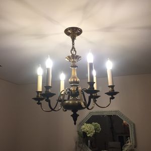 Antique bronze lamp for Sale in Orland Park, IL