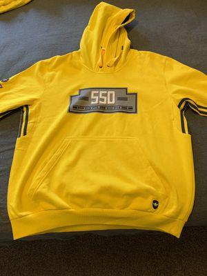 Adidas Originals Porsche Series 550 Yellow Hoodie for Sale in Orlando, FL