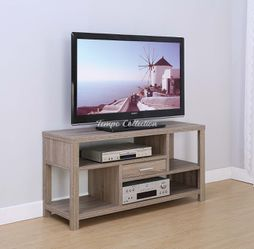 New TV Stand, Dark Taupe, SKU# ID14966TC for Sale in Santa Fe Springs,  CA