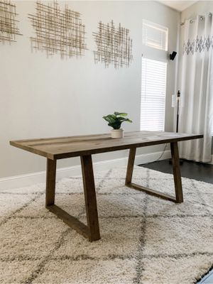 6FT x 3FT Solid Wood Dining Table for Sale in San Francisco, CA