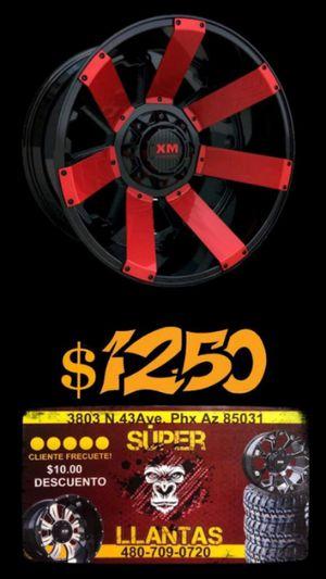 33 1250 20 RINES Y LLANTAS for Sale in Phoenix, AZ
