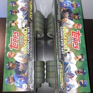 Topps (Weights not include)2020 baseball cards complete set for Sale in West Covina, CA