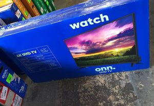 """ONN 43"""" 4K Tv 4JAPY for Sale in Dallas, TX"""