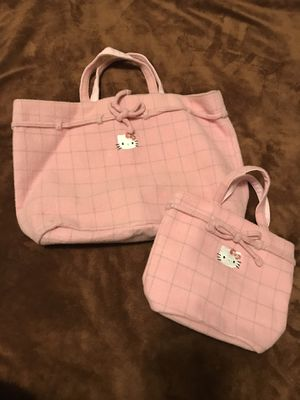Hello Kitty Tote bags. Large $30 and small $25 for Sale in Santa Ana, CA