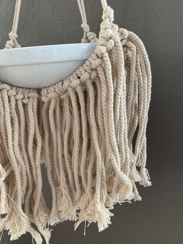Macrame Plant Hanging for Wide Pot