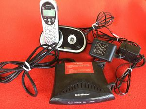 Efficient Speed Stream 5100 a DSL Modem Complete Set up for Sale in Nuevo, CA