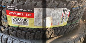 285/45r22 Nitto for Sale in Midland, TX