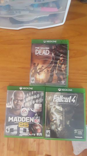 Xbox 1 lot of 3 for Sale in Manassas, VA