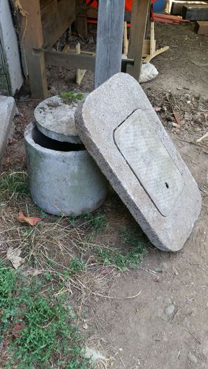 Concrete round box and water meter cover for Sale in Portland, OR