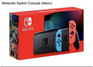 Nintendo switch. Brand new. for Sale in Dearborn Heights, MI