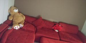 Large red 5 piece sectional for Sale in Baltimore, MD