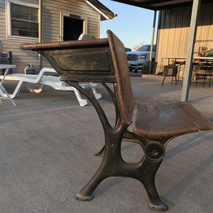 Antique School Desk for Sale in Alvin, TX