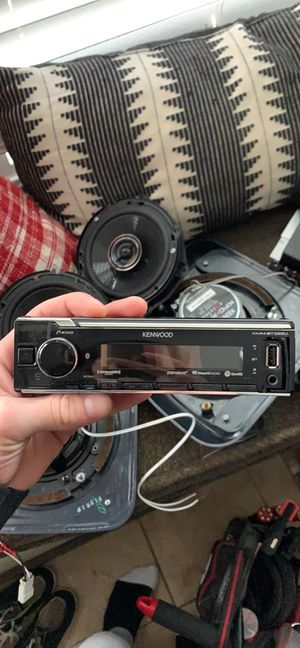 Full KENWOOD car stereo system. for Sale in Vancouver, WA