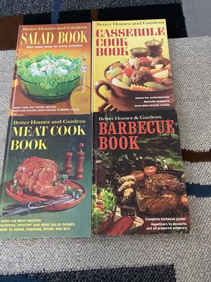 4 Vintage Betters Homes and Gardens Cookbooks for Sale in Mount MADONNA, CA