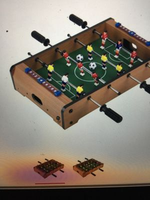 Wooden Table Foosball + Air Hockey+Black Widow Racer Car for Sale in Castro Valley, CA