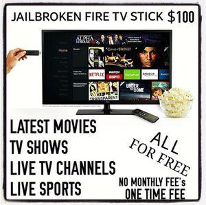 FULLY UNLOCKED FIRE TV STICK for Sale in Hayward, CA