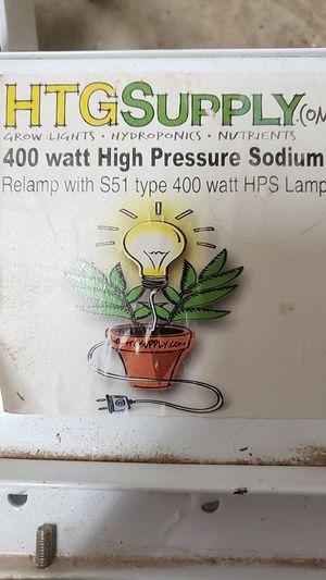 Grow light 400 watt high pressure sodium for Sale in Palm Bay, FL