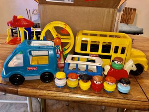 1990s Fisher Price Little Chunky People Toy Lot for Sale in Kalamazoo, MI