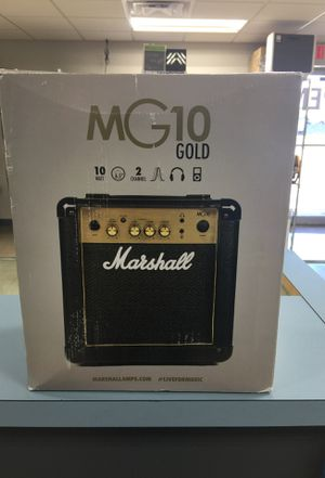 MARSHALL MG 10 GOLD AMPLIFIER for Sale in Taylor, MI