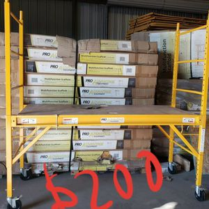 "Multifunction Scaffold 6'×6'×29"" for Sale in Mesa, AZ"