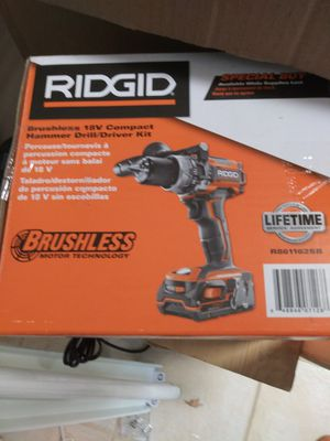 Ridgid brushless hammer drill kit for Sale in O'Fallon, MO