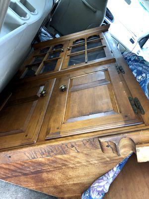 Black Walnut Antique Corner Cabinet $250.00 for Sale in Baltimore, MD
