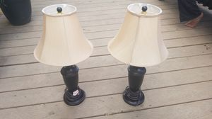 2 Side table lamps for Sale in Denver, CO