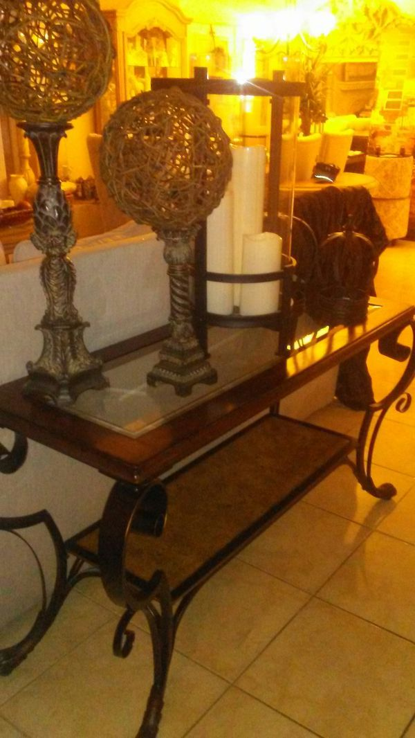 Beautiful foyer table
