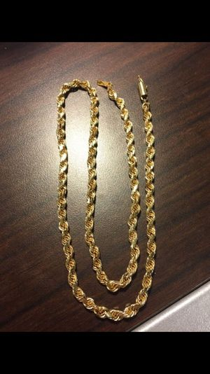 5mm Gold Rope Chain 14k for Sale in Portland, OR