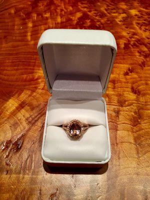 Morganite Rose Gold Diamond Ring for Sale in Rockville, MD