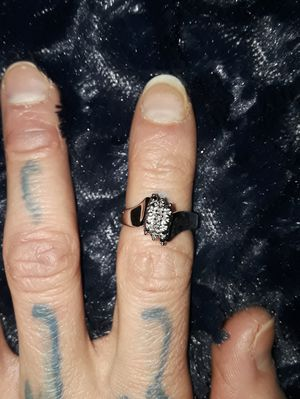 Cubic Zirconia Cluster Ring for Sale in Palo, IA