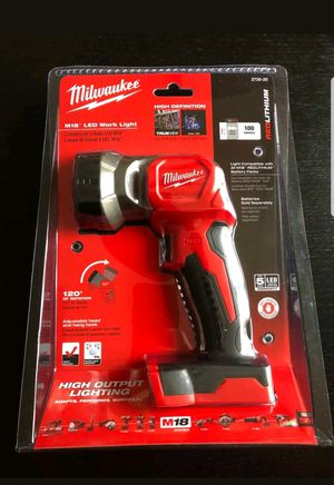 Milwaukee led flashlight for Sale in Arlington, VA