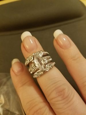 Sterling Silver 3 Piece Wedding Set for Sale in Knoxville, TN