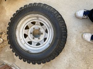 8.75-16.5 wheels and tires for trailer for Sale in Hesperia, CA