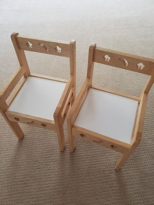 Kid's chairs, fits kids ages 1-4 y.o. for Sale in Denver, CO