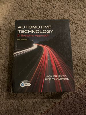 Automotive technology college book for Sale in Riverside, CA