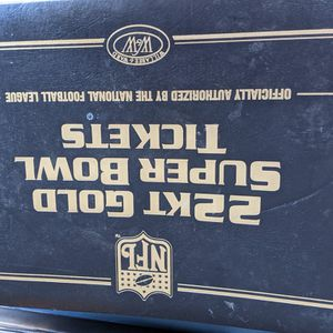 22KT GOLD NFL SUPER BOWL TICKETS for Sale in San Jose, CA