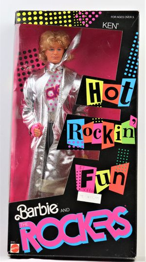 Vintage 1986 Hot Rockin' Fun Barbie Ken Doll for Sale in Oakland, CA