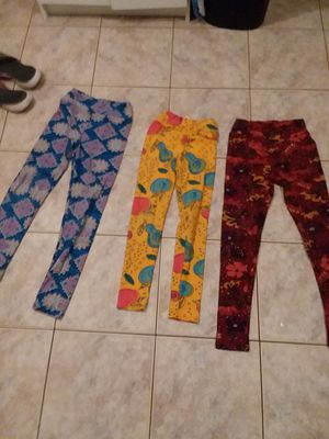 Size tween and size large extra large girls La LaRue leggings for Sale in Virginia Beach, VA