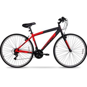 700c Men's SpinFit Hybrid Bike, Black/Red for Sale in Indianapolis, IN