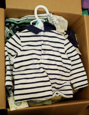 Box of clothes (read description) for Sale in Rockville, MD