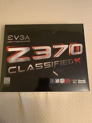 Evga Z370 classified K for Sale in Newark, OH
