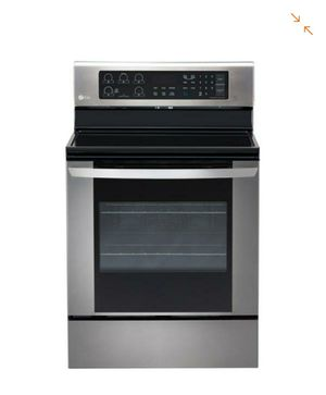 LG Electronics 6.3 cu. ft. Electric Range with EasyClean Convection Oven in Stainless Steel for Sale in Spokane, WA