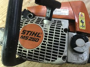 STIHL MS 250 chainsaw parts only for Sale in Baltimore, MD