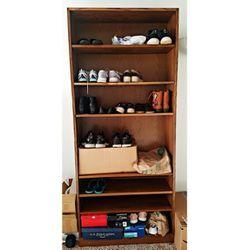 Adjustable 7 Ft Bookshelf/Shoe Shelf/Showcase for Sale in Raleigh,  NC