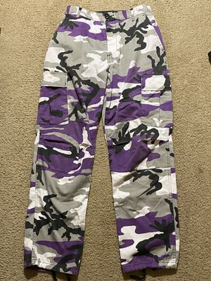 Rothco BDU Tactical Purple Camo Cargo Pants for Sale in Tualatin, OR