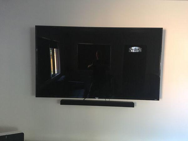 """65"""" TCL 4K Roku Smart TV"""