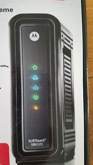 Motorola cable modem for Sale in Thornton, CO