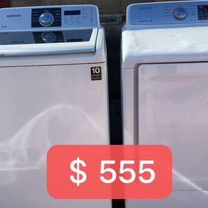Samsung Set Washer And Dryer Good Working for Sale in Hacienda Heights, CA